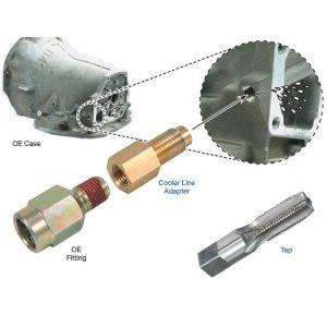 Cooler Line Repair Kit,A500/518/618/48RE