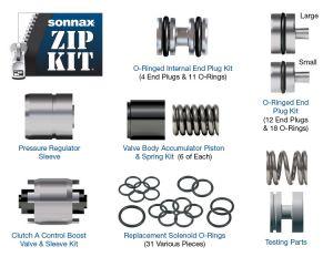 Sonnax zf6-6r60-zip 6R60 6R80 ZF6HP19 ZF6HP26 ZF6HP32 Valve Body Rebuild