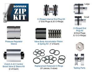 Sonnax Zip Kit (ZF6HP21, ZF6HP28, ZF6HP34)